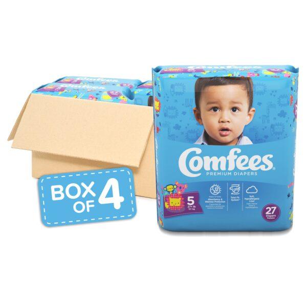 Comfees Premium Baby Diapers - Size 5 - Sebcare