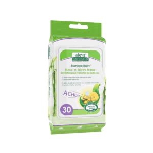 Aleva Naturals Bamboo Baby® Nose 'N' Blows Wipes