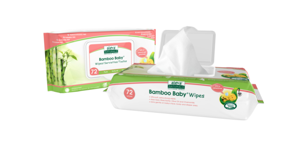 Aleva Naturals Bamboo Baby® Sensitive Wipes