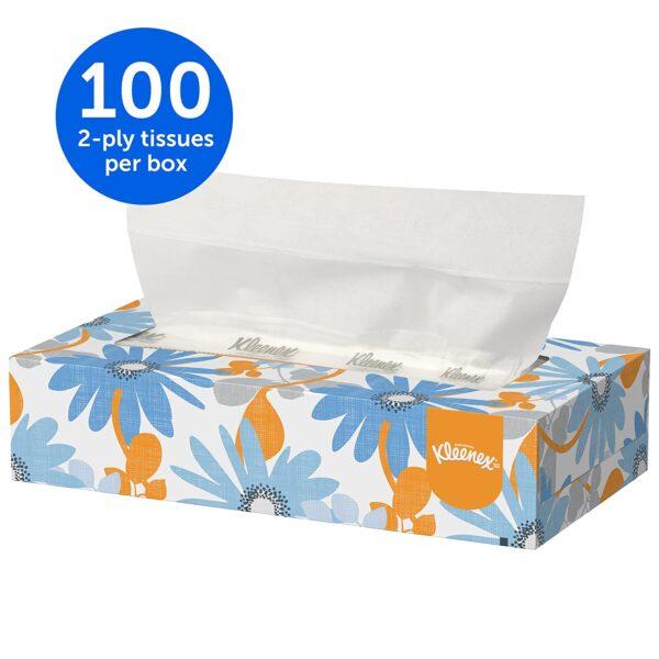 Kleenex Facial Tissue Box