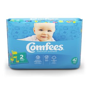 Comfees Premium Baby Diapers - Size 2