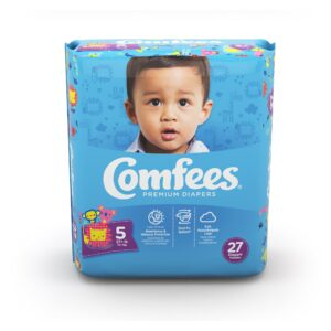 Comfees Premium Baby Diapers - Size 5