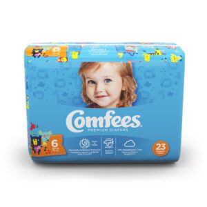 Comfees Premium Baby Diapers - Size 6