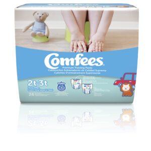 Comfees Training Pants-Size 2T-3T-Boys - Sebcare