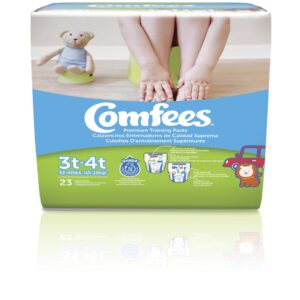 Comfees Training Pants-Size 3T-4T-Boys - Sebcare