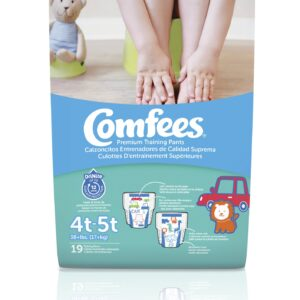 Comfees Training Pants-Size 4T-5T-Boys