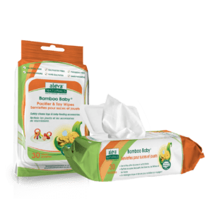 Aleva Naturals Bamboo Baby® Pacifier & Toy Wipes