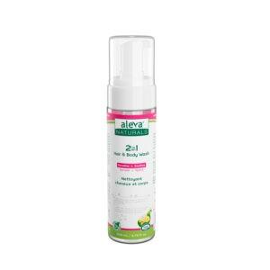 Aleva Naturals 2 in 1 Hair & Body Wash - Sebcare