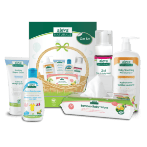 Aleva Naturals Newborn Gift Set - Sebcare