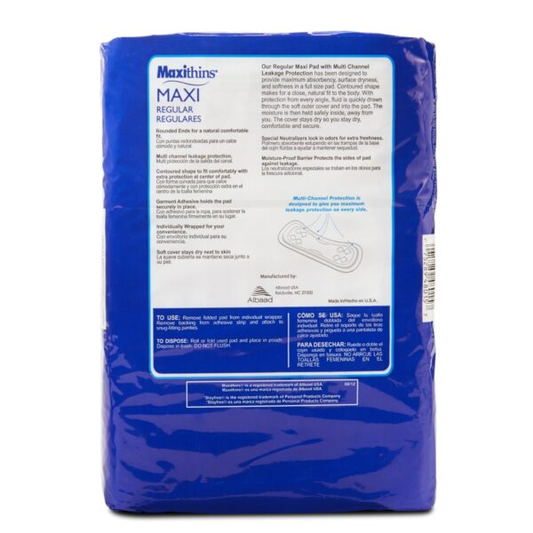 Maxithins Pads - Sebcare
