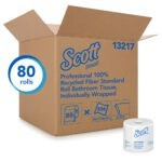 Scott Bathroom Tissue 2ply 80 Rolls X 506 - Sebcare