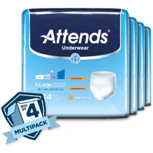 Attends Underwear Extra Absorbency XL