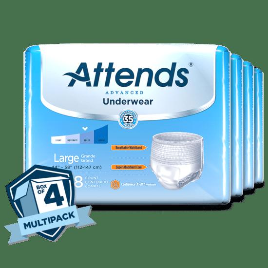 Attends Discreet Men's Underwear L