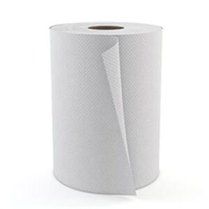"Cascades PRO Select Roll 1-Ply Universal Towel, White, 425', 7 7/8"" Width, 1- 9/10"" Core, 12 Rolls/Case"