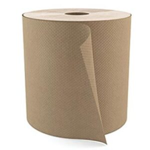 "Cascades PRO Select Roll Paper Towels, 1-Ply, Natural, 800', 7 7/8"" Width, 1- 9/10"" Core, 6 Rolls/Box"