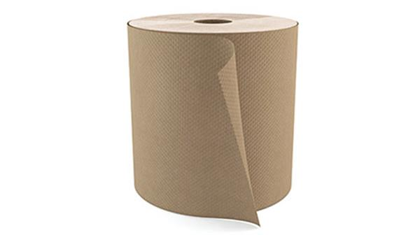 """Cascades PRO Select Roll Paper Towels, 1-Ply, Natural, 800', 7 7/8"""" Width, 1- 9/10"""" Core, 6 Rolls/Box"""