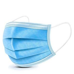 BG/50 SHIELD SURGICAL MASK WITH LACES, 3 PROTECTIVE LAYERS ASTM LEVEL 2, EARLOOP (NON-RETURNABLE)