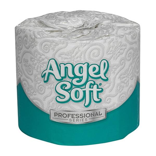 Angel Soft® Bath Tissue Rolls, 40 Rolls/Case, 450 Sheets/Rol