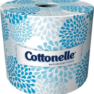 Cottonelle Professional Bathroom Tissue, Standard Toilet Paper Rolls, 2-Ply, White, 20 Pack